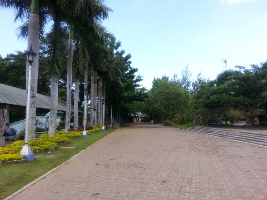Davao City, Filipinas: People's park in maintained by the City Government of Davao.