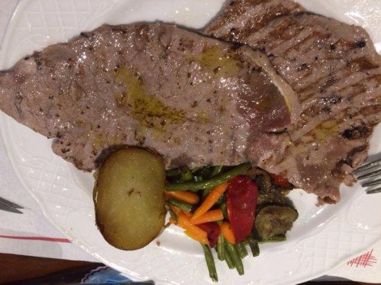 Restaurant- Hostal del Carme: Bistec 5/5