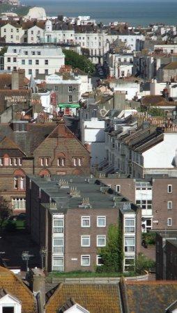 Brighton and Hove, UK: Kemptown rooftops  © Robert Bovington