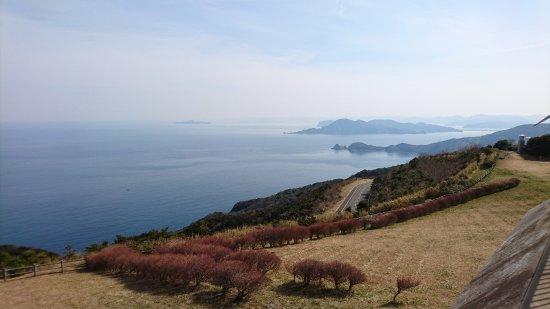 Senjojiki : 展望台から日本海側の風景