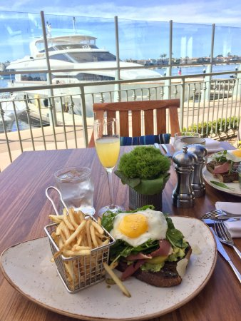 Balboa Bay Resort: Brunch at Waterline <3