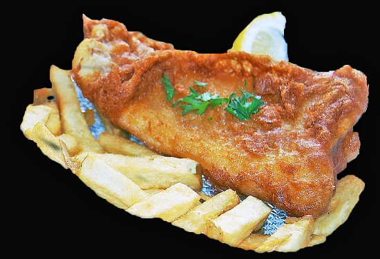 Fish O Chips: Cod and chips