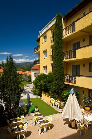 Vernet-Les-Bains, Frankrijk: Terrasse