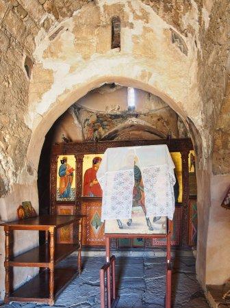 Kolossi, Chipre: l'entrée