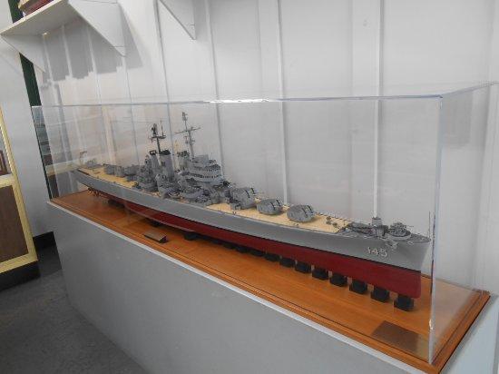 USS Roanoke model