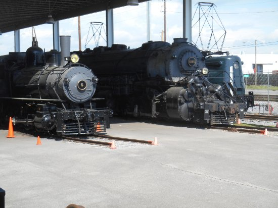 โรอาโนค, เวอร์จิเนีย: Train yard