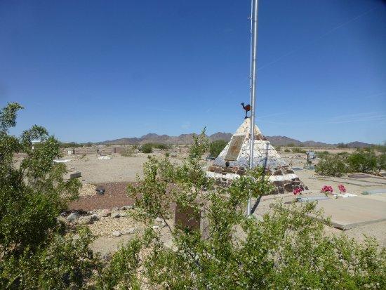 Quartzsite, AZ: Cemetery