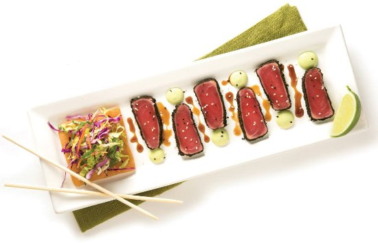 Fairfield, NJ: Char-crusted Ahi Tuna