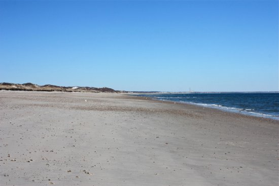 West Barnstable, MA: Low tide at Sandy Neck