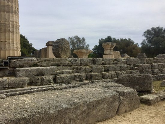 Ancient Olympia: Temple of Zeus