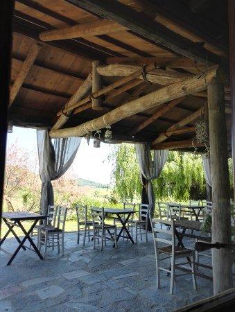 Grazzano Badoglio, Italien: terrazza