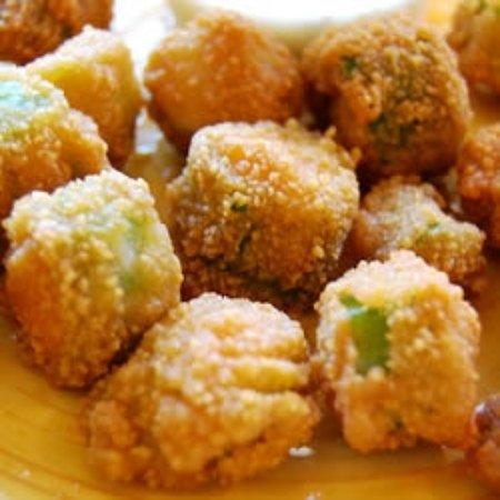 Lincoln, AL: Fried Okra