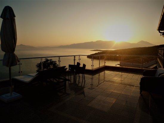 Esperides Resort Hotel: Восход с террасы Oceanis - 502