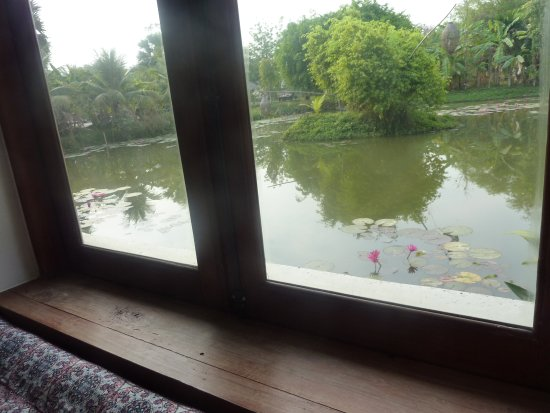 Battambang Resort: camera con vista sull'incantevole laghetto