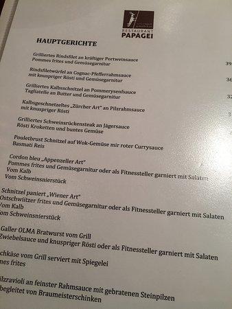 Papagei St Gallen Restaurant Bewertungen Telefonnummer Fotos