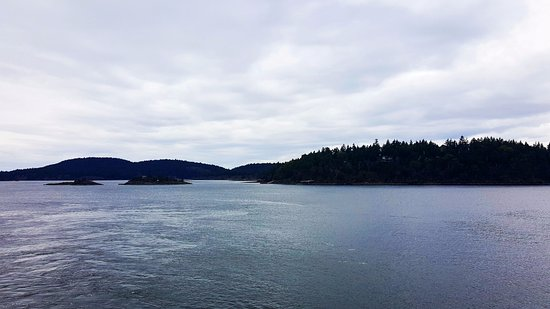 Taken from ferry docked at Lyall Harbour (Saturna Island)