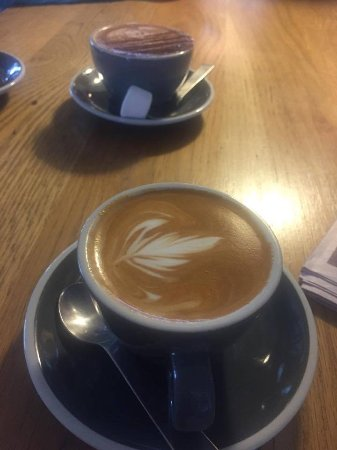 Havelock North, Nowa Zelandia: Fantastic coffee and out of this world hot chocolate!