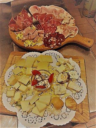 Ali Terme, Italy: tagliere salumi e formaggi