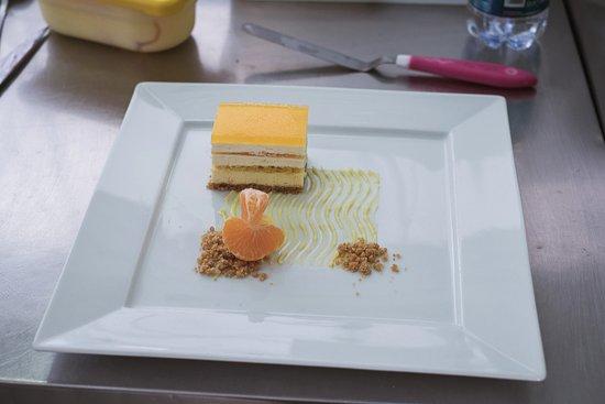 Caluso, Italy: dolce al mandarino