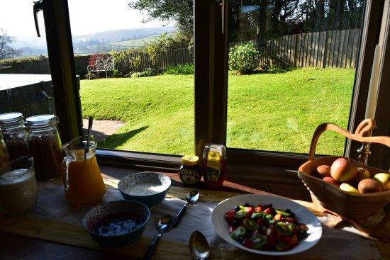 Chagford, UK: Le petit déjeuner