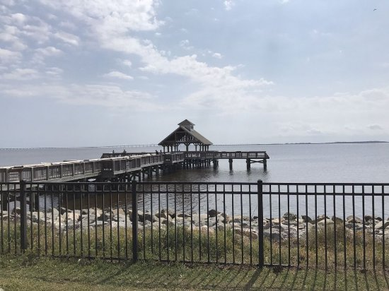 Manteo, Kuzey Carolina: View of the pier