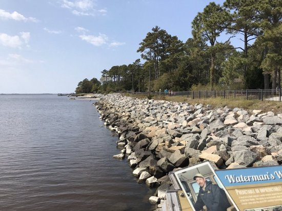 Manteo, Kuzey Carolina: View from the pier