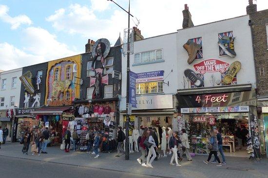 Camden Market - ロンドン、カム...