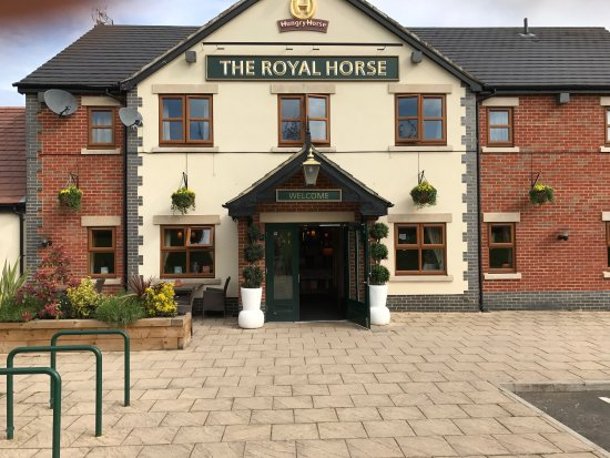 Flower power at the Royal horse at Leamington