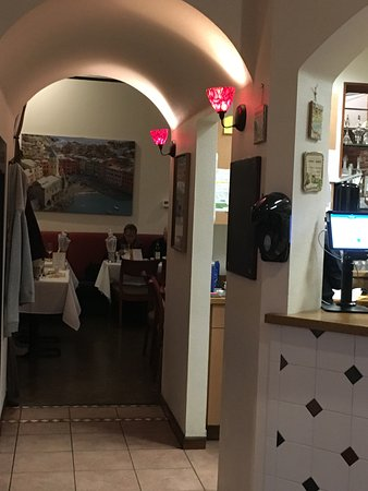 il Bistro Italiano: One of two dining areas