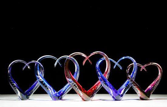 Benton, KS: Love Sculptures