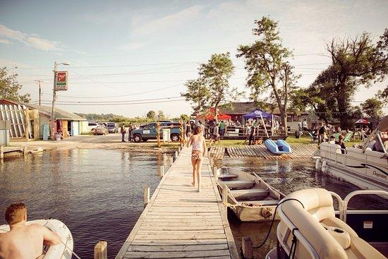 Oconomowoc, WI: Nomad Boardsports Dock.