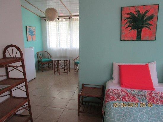 "Punta Uva, Costa Rica: ""HOSE B"" King Bed, A/C, Wi Fi, Kitchenette"