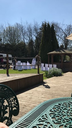 Upton St Leonards, UK: Wedding at Hatton Court