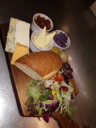 Guisborough, UK: Cheese platter available daily