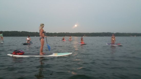 Oconomowoc, WI: From June through September we have full moon paddles!