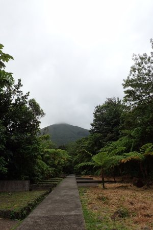 Basse-Terre, Guadeloupe: Start of the trail from the welcome centre