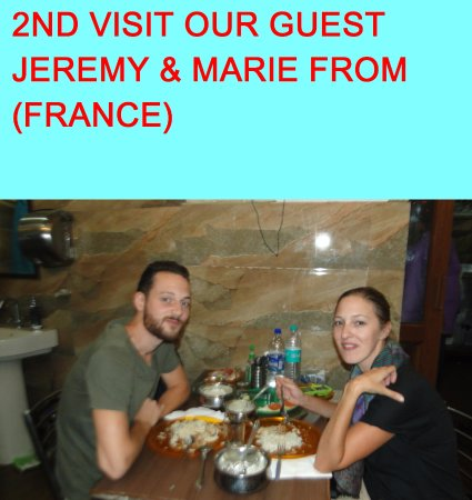 OUR GUEST FROM (FRANCE)