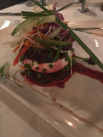 The Valley, Anguila: The oven roasted beet roots salad