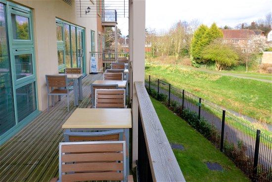 Penkridge, UK: Balcony