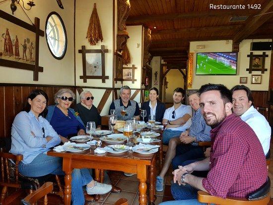 Restaurante 1492 Santa Fe. Granada
