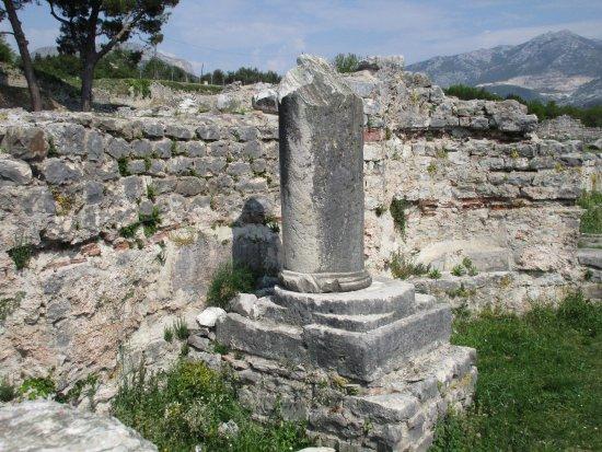 Solin, Kroatien: Säule