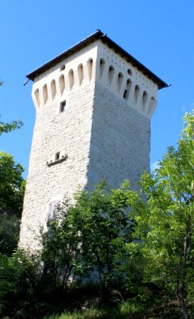 Rocca Malatina, Ιταλία: Torre