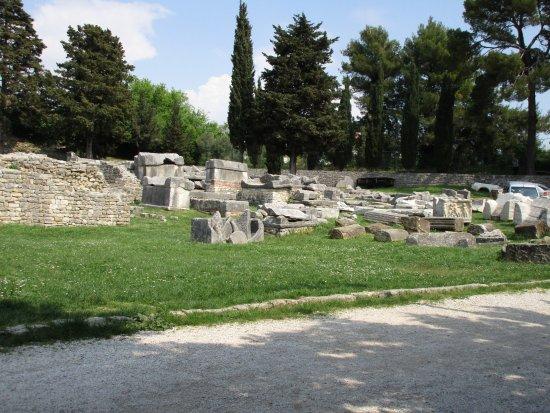 Solin, Kroatien: Nekropole