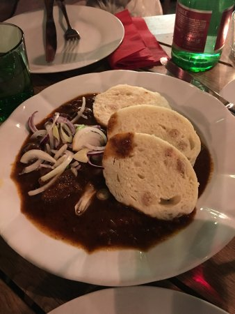 Image result for U Malvaze restaurant goulash
