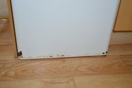Baslow, UK: Rusty fridge