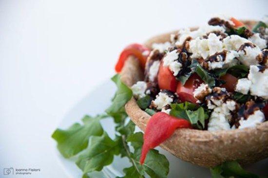 Fisilanis Restaurant: New salad!!!