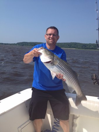 South Portland, ME: Off The Hook Charters-S Portland-Captain Mike Cleary