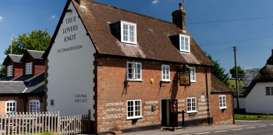 Blandford Forum, UK: Front of True Lovers Knot