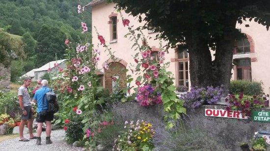 Le jardin fleuri devant le gite - Picture of Gite l\'Escolan, Ustou ...