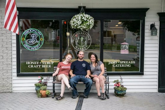 Honeoye, NY: The Founders (Alysha, Ian and Peggy)